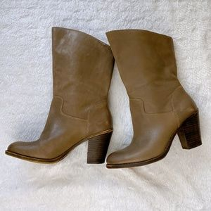 Lucky Brand Leather Boots